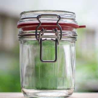 100ml glass jar