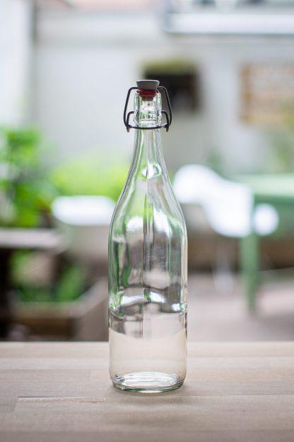 1L zero waste glass jar amsterdam