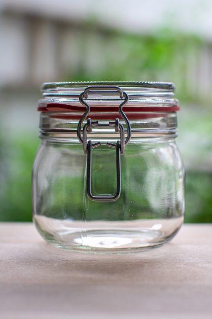 500mL zero waste glass jar