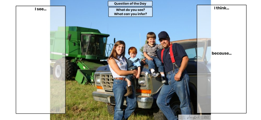 Seesaw: Making inferences - farm theme