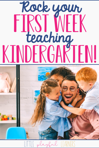 Rock the first week of kindergarten!