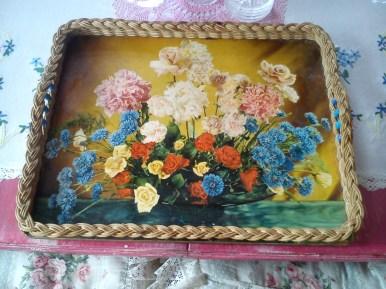 vintage tray £1