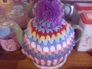granny chic tea cosy