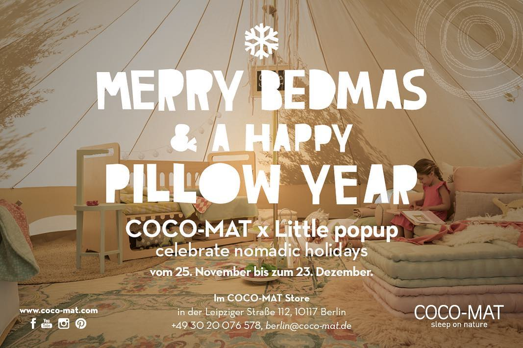 Coco-Mat x Little popup celebrate Nomadic Holidays