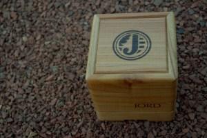 jord men's watch wood box