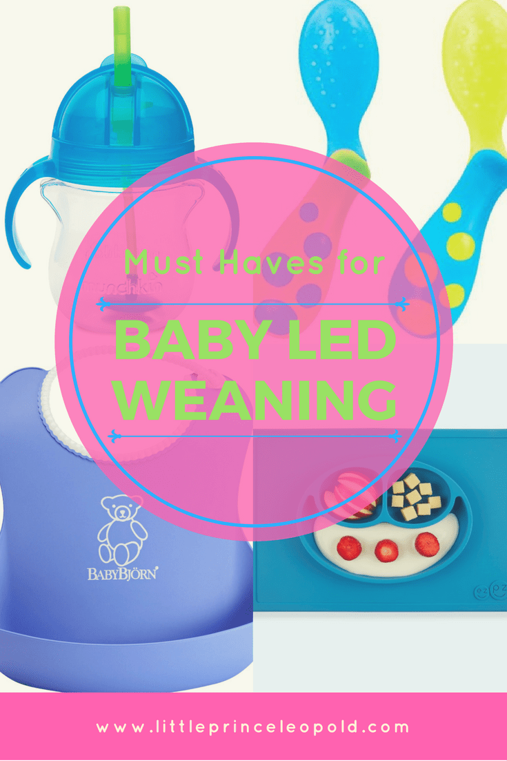 must haves baby led weaning