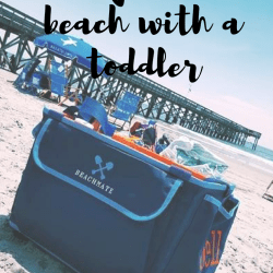A Day at the Beach Without Daddy, Made Easy!