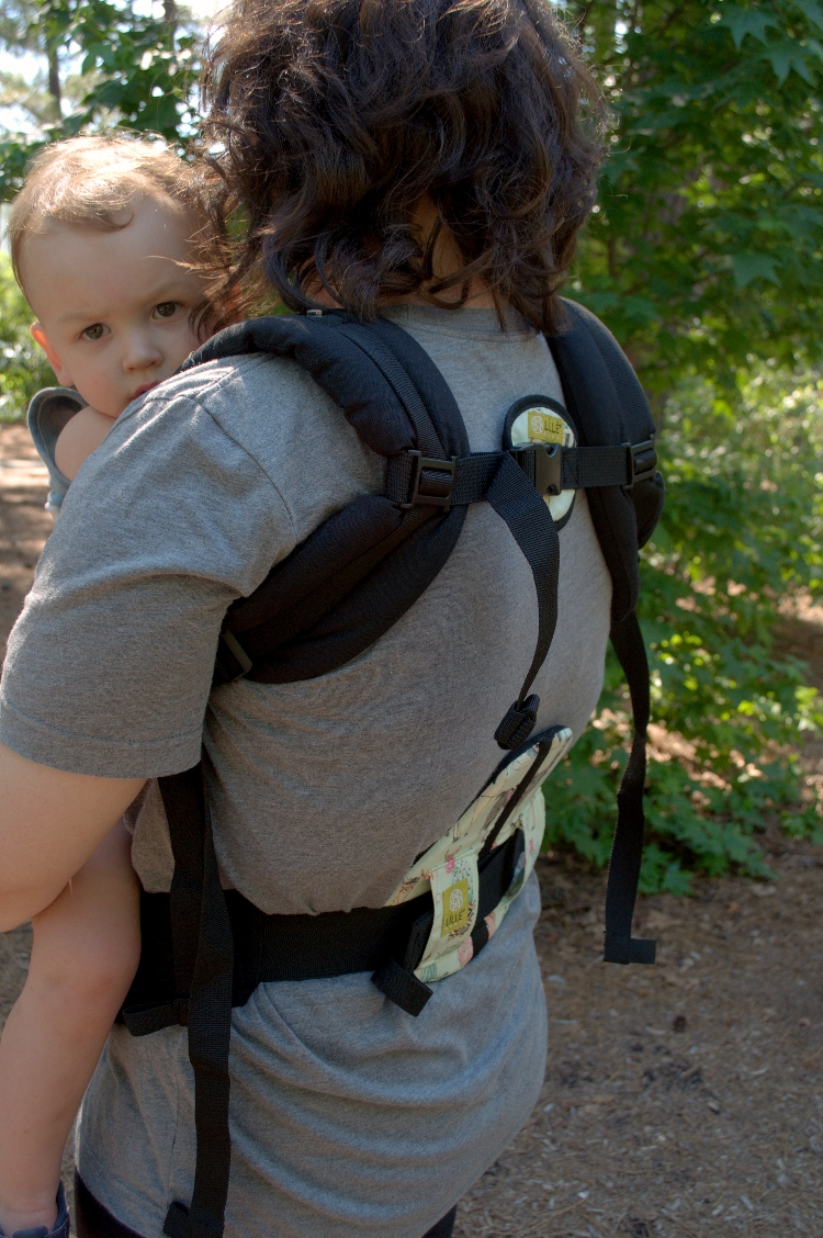 lumbar support baby carrier