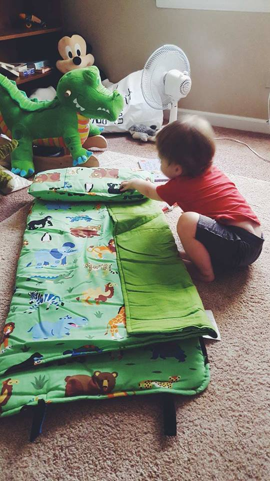 nap time-nap mat-toddler gear