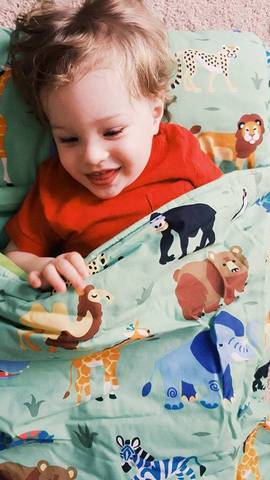 wild animals-bedding-nap mat-toddlers