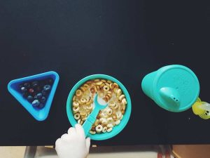 toddler meal ideas cereal and fruit replay