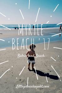 myrtle beach-beach gear-babies