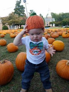 pumpkin patch baby
