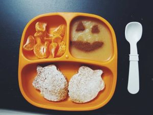 toddler breakfast-halloween themed food-fall food