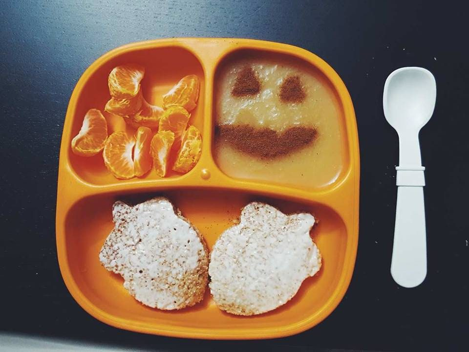 toddler breakfast-halloween themed food-fall food