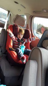 toddler car trip
