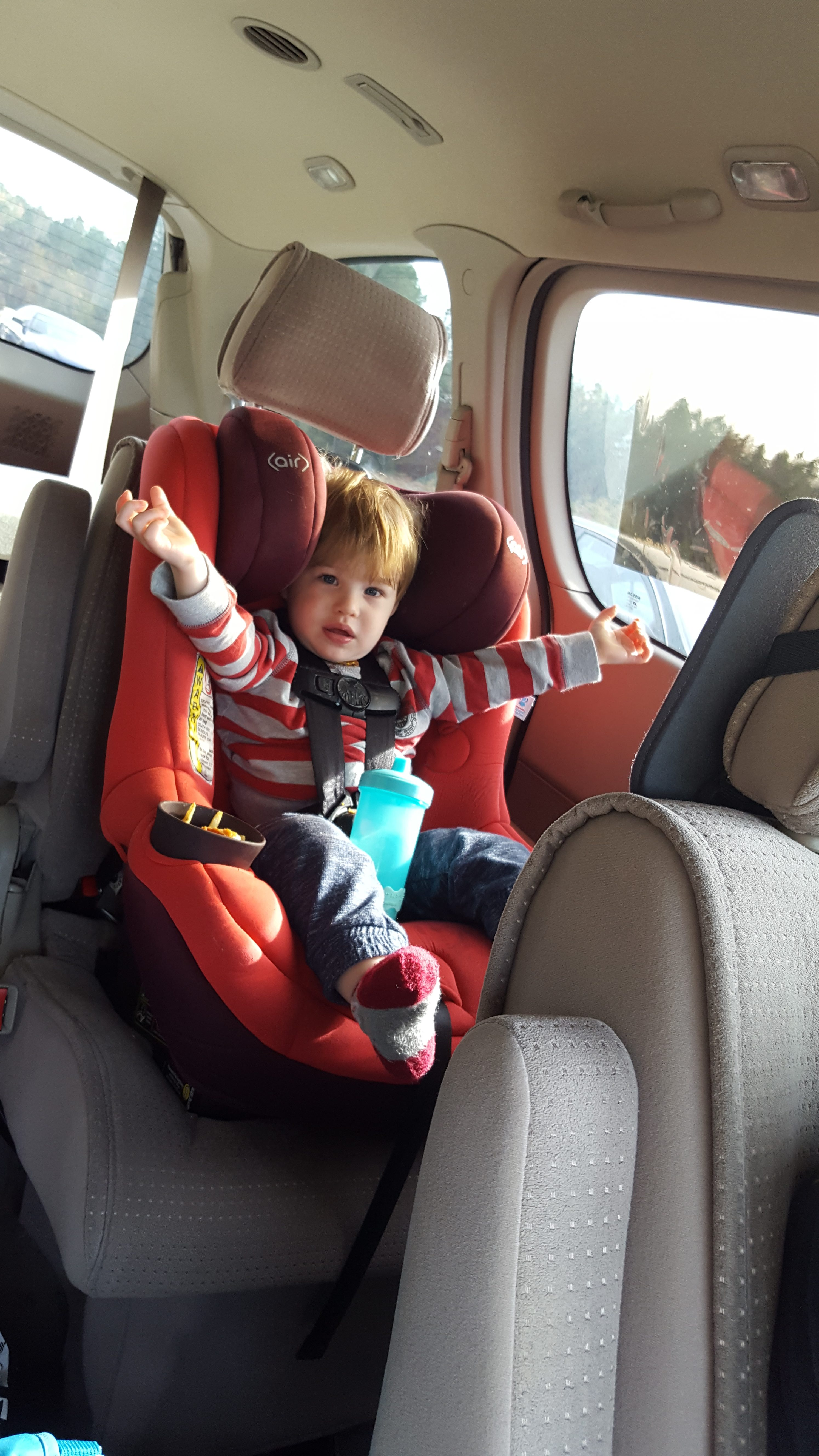 toddler car trip