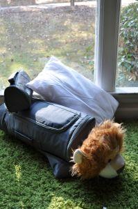 buddy bagz-buddybagz-brave buddy-lion sleeping bag