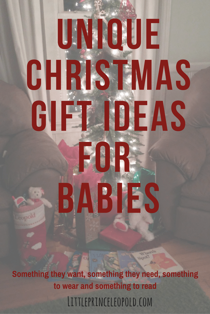 Unique Christmas Gift Ideas for Baby | Little Prince Leopold
