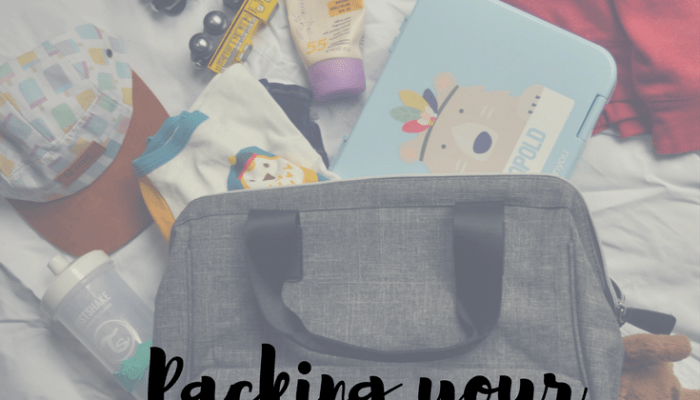 Packing a Diaper Bag for Any Event