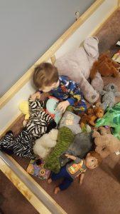 toddler bed-ikea bed-floor bed-big boy room