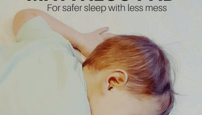 Waterproof, Breathable Crib Mattress Pad