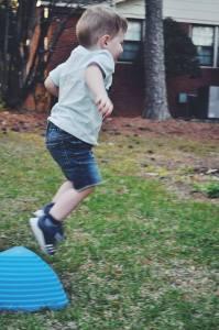 rock steady balance stepping stones- jump off jo- river stones- toddler skills