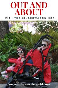 kinderwagon hop- kinderwagon-double stroller-mom of two-umbrella stroller-small footprint