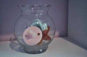 nursery-flamingo room-flamingo nursery-girl room-accent wall-