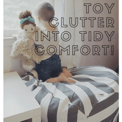 Turning Stuffed Toy Clutter Into Tidy Comfort!