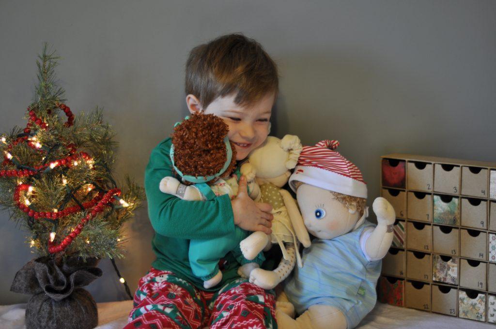 rubens barn-handmade dolls-empathy-learn through play-12 days of christmas- kindness