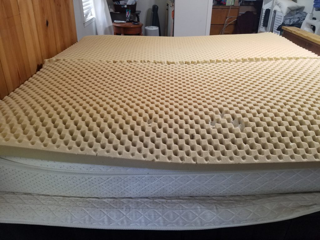 mattress yogabed marpac foam bed