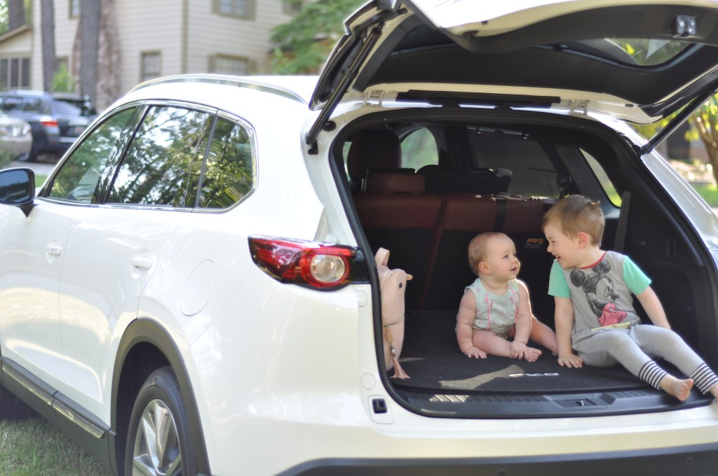 drive mazda- family car- car review- third row seating- beach trip- travel with kids