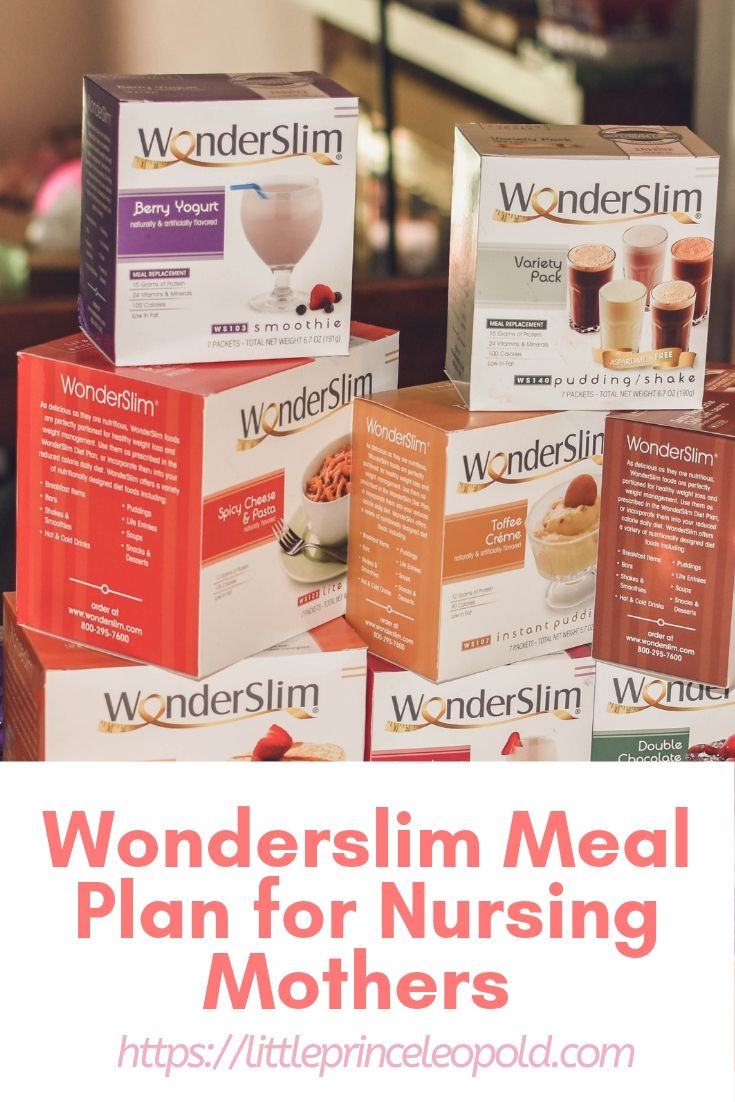 Wonderslim Meal Plan For Nursing Mothers Review Little Prince