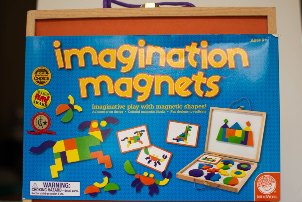 imagination magnets learning game