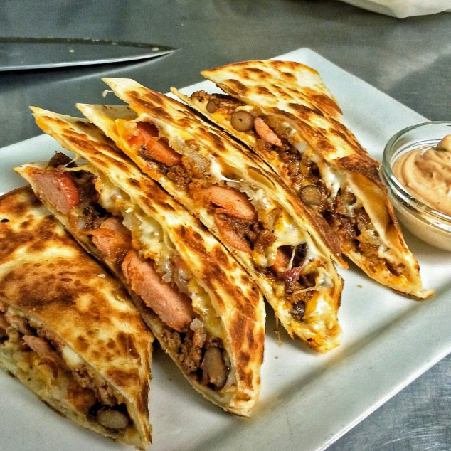 little pub portchester quesadilla