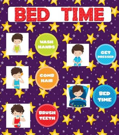 Bed Time Printable