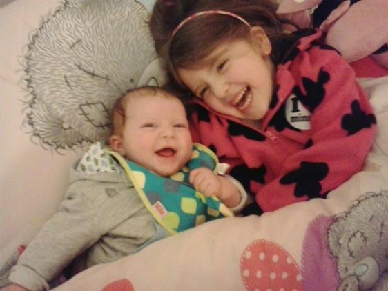 Hailey and baby Jack.x