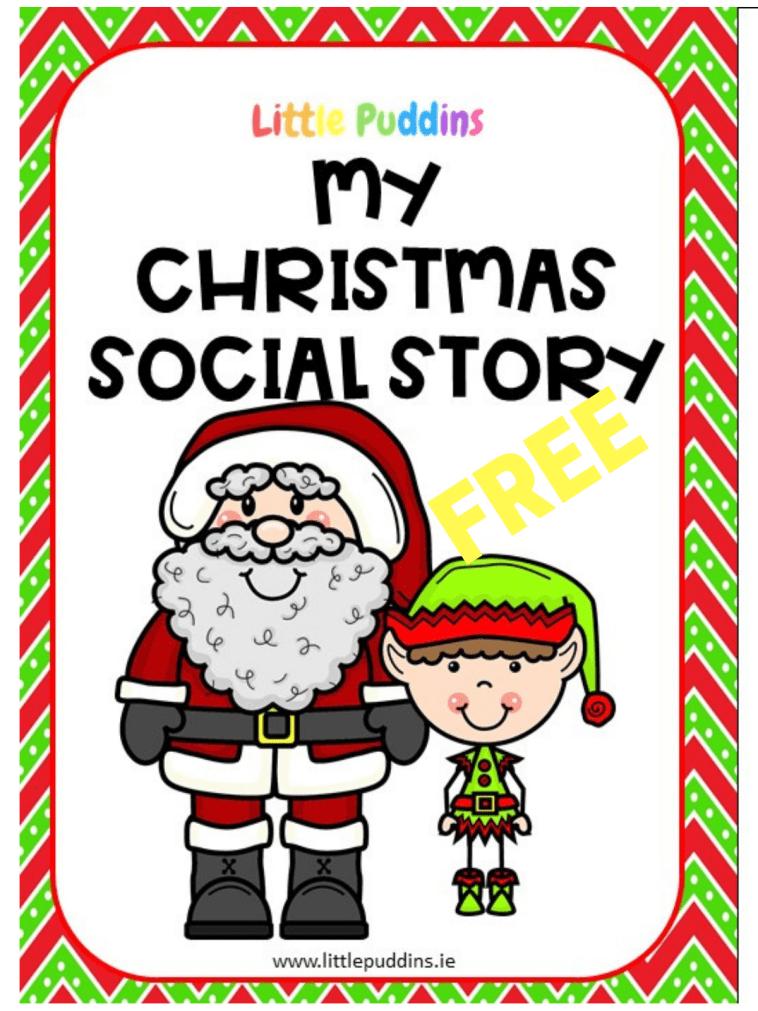 FREE Christmas Social Story