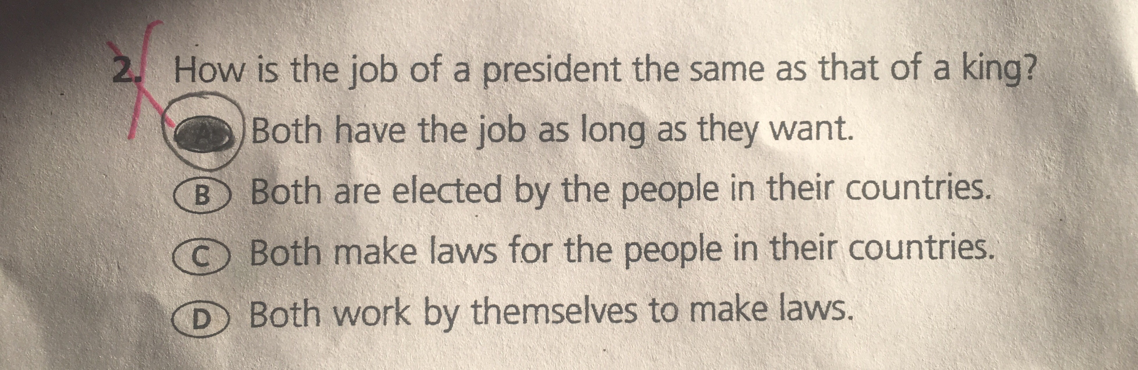 The President Makes Laws According To Scholastic