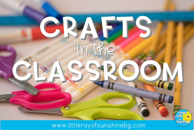 Why you should do crafts with your class