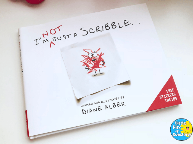 I'm NOT Just A Scribble Book by Diane Alber