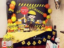 Construction Theme Dessert Table