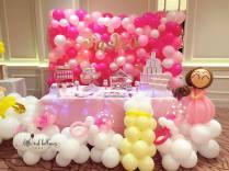 Front view Sasha Balloon Decor