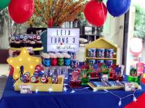 PJ Masks Dessert Table