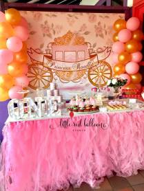 Princess Dessert Table 2