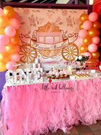 Princess Dessert Table 2