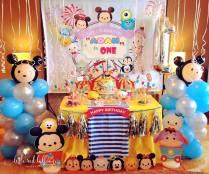 tsum tsum balloon decoration