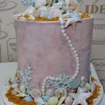 seashell-cake