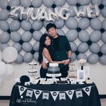 21st-birthday-party-balloon-decoration